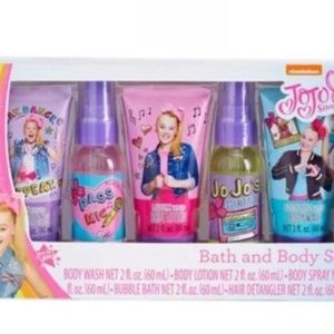 Other - 5pc JOJO SIWA BOW Bath and Body Beauty Gift Set
